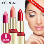 L'oreal Riche Anti-Age Serum Lipsticks Now $6 and Free Shipping @ MyDeal.com.au