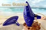 Ceramic 12-Hole Ocarina - $10 + $8 Australia Wide Postage - Ozstock.com.au