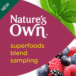 FREE: Nature's Own Superfoods Blend Samples (4000 Only)