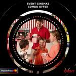 FREE 1x Small Popcorn and 1x Small Drink @ Event Cinemas - When You Pay with Masterpass