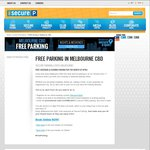 Free Weekend and Evening Parking in Melbourne CBD in April (via Secure Parking)