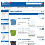 Simply 42L Flexi Tubs $2.50 @ Officeworks. In Store Only