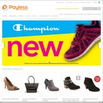 Payless Shoes up to 30% off all shoes + Extra 25% off for Members - Delivery $9 or Free over $49