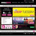 $3.95 Eagle Boys Classics Pizzas 10-14 June 2015