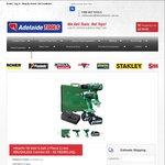Hitachi 18V Brushless Hammer Drill + Impact Driver Kit + 2x 5.0ah Battery- $399 @Adelaide Tools