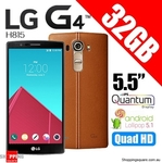 LG G4 H815 32GB (Leather Brown) $437.90 Delivered from ShoppingSquare