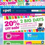 20% off @ PETstock (In-Store and Online)