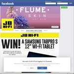 "Win a Samsung Galaxy Tab Pro S 12"" Wi-Fi Windows Tablet from JB Hi-Fi"