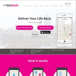 Go-Fetch Free Peer to Peer Delivery (Get Anything Delivered in Melbourne First $10 Free No Minimum)
