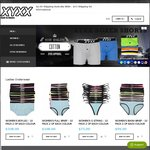 XYXX Mens and Womens Underwear Heavily Discounted down to $4.44 for All Single Packs + $2 Shipping Aust Wide