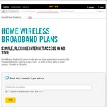 Optus 4G/3G Home Wireless Broadband - Now 100GB for $120/Month
