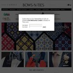 30% off Store-Wide @Bows-N-Ties + $12.95USD Flat-Rate Shipping to AUS