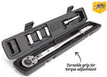 """ALDI 1/2"""" Drive Torque Wrench with Quick Release (3 Sockets & Extension Included) $29.99"""