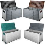 Weatherproof Outdoor Storage Box 290L - Pickup from Coolaroo (VIC) - $44.99 @ Shopiverse