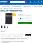 InSystem IN-D12TM Desktop Calculator $2 (Was $19.98), Scientific $4 (Was $9.98) + More @ Officeworks