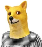 Doge Head Mask USD $4.05/AU $5.33 Delivered @ Everbuying (New Accounts)