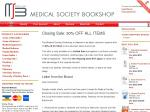 USyd Medsoc bookshop is closing, 30% off books and equipment