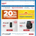 20% off Full Priced Items Storewide @ Amart Sports