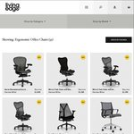 Herman Miller Aeron Chair (Old Model) - $1050 + Delivery @ Living Edge