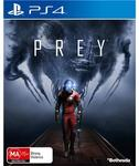 Prey for PS4 $59 on May 5th @ JB Hi-Fi