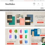 Notemaker - 20% off All Notebooks ($9.90 Shipping, Free Shipping over $99)
