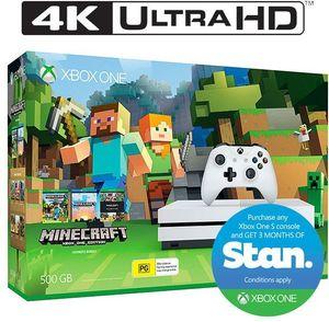 Xbox One S 500GB Minecraft Favourites Bundle (C&C) $228 65