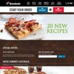 3 Traditional Pizzas + Garlic Bread + 1.25L Coke $26.95 (Pick Up) @ Domino's