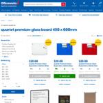 Quartet Premium Glass Board 450 x 600mm $20 @ Officeworks (Limited Stock Remaining)