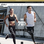 2XU Click Frenzy 50%-70% off (13-14 Nov) + Free Shipping