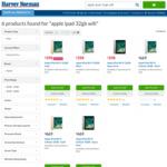 Apple iPad 32GB Wi-Fi $398 at Harvey Norman