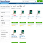 Apple iPad 32GB Wi-Fi $398 at Harvey Norman