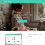 Free Credit Alert and Monitoring with Credit Simple