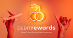 Debit Mastercard offers; e.g. Complimentary Herb and Garlic Pizza Square with any Large Pizza Purchase @ Crust Pizza