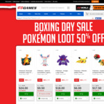 50% off Pokemon Loot @ EB Games and Zing