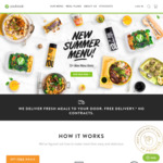 2 Free Meals at Youfoodz for January orders ($69 Minimum Spend)
