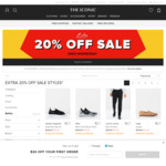 Extra 20% off Sale on Selected Items @The Iconic