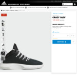 adidas Outlet Up To 50% off Marked Price + Extra 20% off. Crazy 1 Adv $96 (Was $240) & More Via Code Posted (No Min Spend)