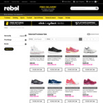 30-50% off Selected Footwear at rebel. Converse All Star Hi Top $30 (White), $40 (Black) + Delivery ($5 Metro)