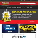 FREE $5 Credit (Minimum Spend $10) for Club Plus Members @ Supercheap Auto