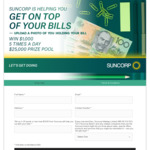 Win 1 of 25 Prizes of $1,000 from Suncorp / Nine Network Australia