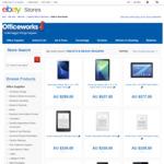 Kindle Paperwhite $143.10, Samsung Galaxy Tab A, 10.1 (T580) $269.10, Lenovo 10-Tab 10.1 16GB $179.10 @ Officeworks eBay