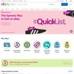 5% off Sitewide (Min Spend $30) @ eBay