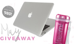 Win a Luxe Magenta Tumbler, Teami 30 Day Detox Program and MacBook Air from Teami Blends