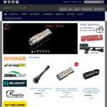 10% Discount off All Flashlights, Headlamps and Bike Lights @ Bright Nite