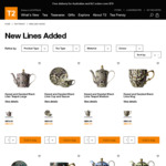 T2 TeaFrenzy - up to 35% off Dazed&Dazzled Range (Online Only)