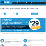 [QLD] 12% off All Parking @ Brisbane Airport