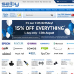 15% off Site Wide @ Selby Acoustics