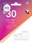 Telstra $30 Pre-Paid SIM Kit for $10 @ Telstra Online