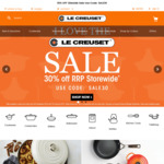 Le Creuset 30% off Sitewide