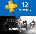 PS Plus Promotion [PSUS Account Req]: Buy 12 Months of PS Plus, Get Rainbow Six Siege Free. $59.99 USD ~ $83.85 AUD